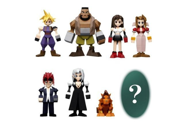 Final Fantasy VII REMAKE CLOUD Mini Figure lottery Kuji G Prize FF7